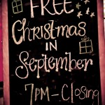 christmas in september @ Rockwell - sponsored by il Capriccio on Vermont, Los Feliz