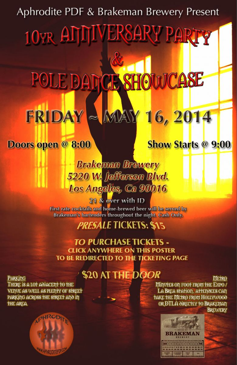 Anniversary Party & Pole Dance Showcase