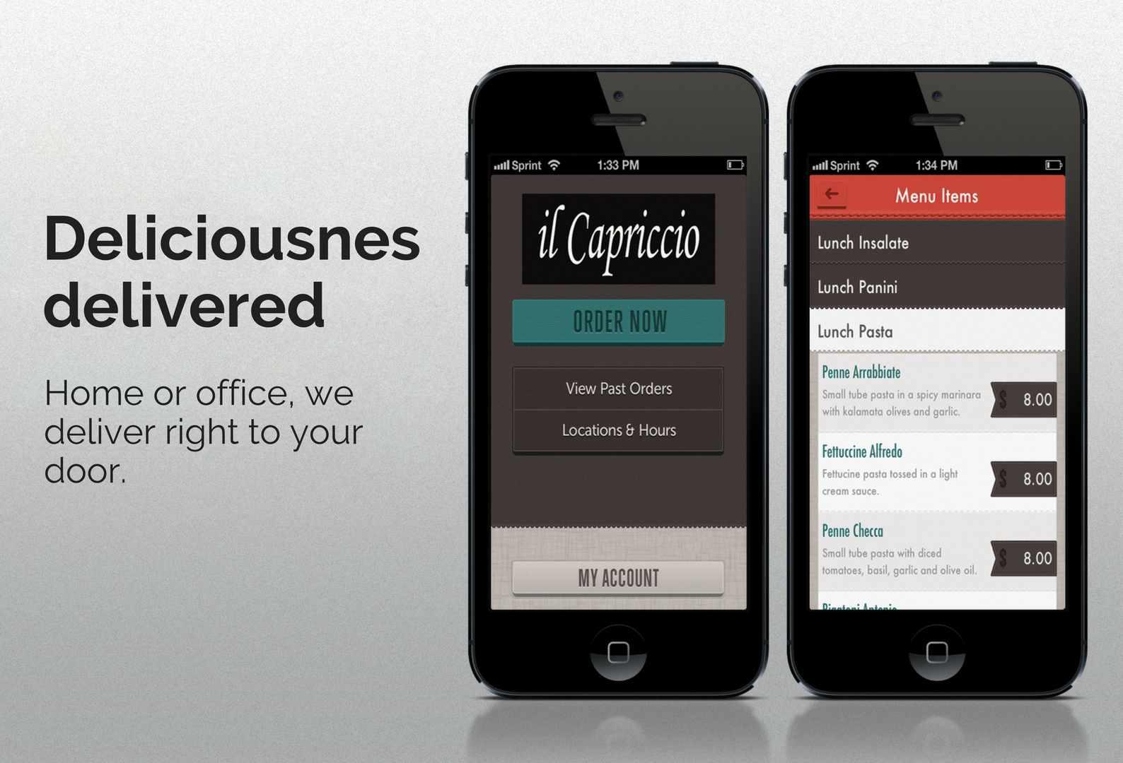 il Capriccio order online